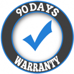 90 Days Warranty on Service
